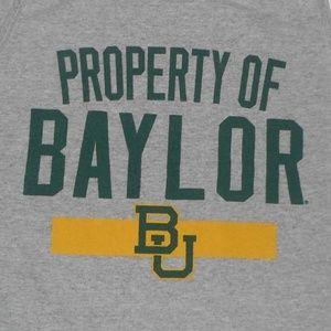 Property of Baylor BU athletic tank top